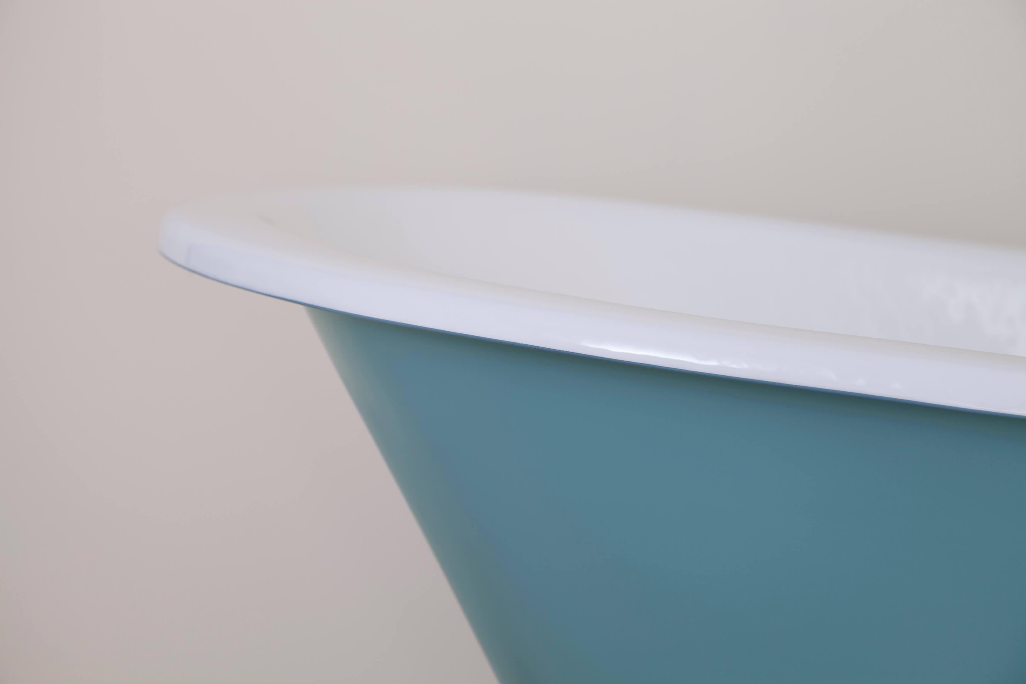 Beaulieu\' Single High Slipper Cast Iron Roll Top Bath - Warwick ...