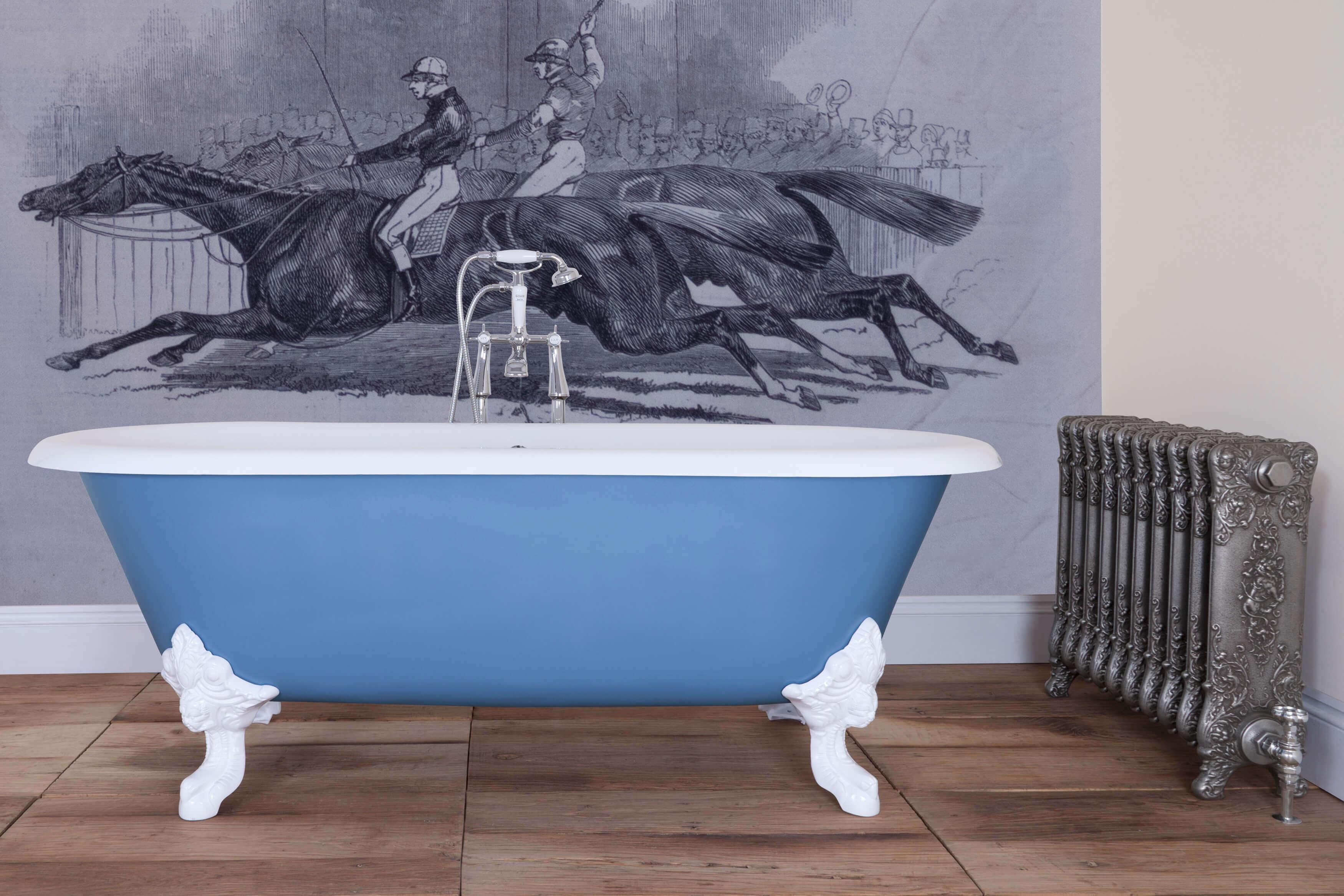 Funky Roll Top Bath Illustration - Design your own bathtub - sorag.info