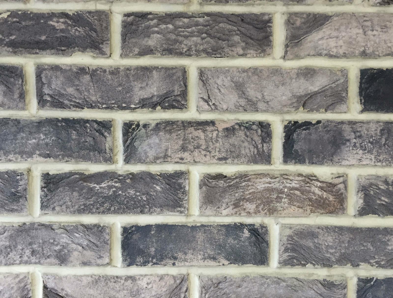 Slate Grey 2 5 Quot Hand Made Brick Slips Brick Wall Tiles