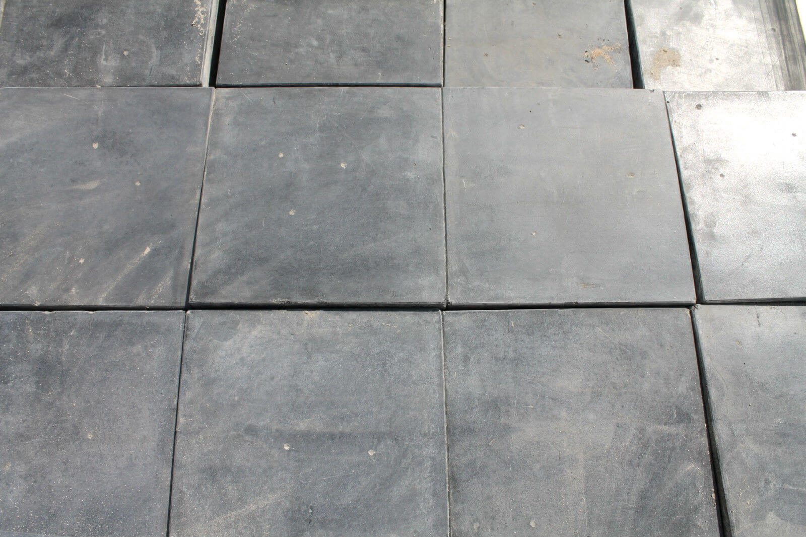 Black Quarry Tiles >> Reclaimed 9 x 9 Inch Blue Quarry Tiles - Warwick Reclamation