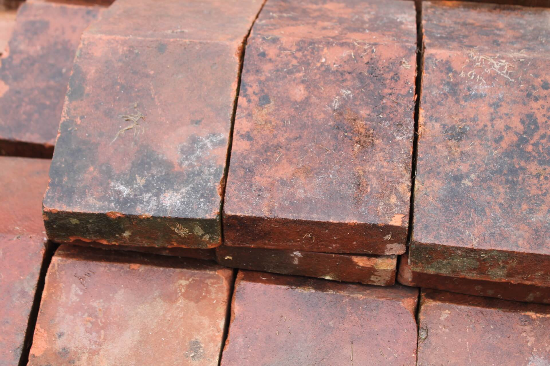 Red Terracotta Stone : Z reclaimed red terracotta clay coping stones sold
