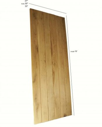 Hand Made Reclaimed Pine Cottage Plank Doors \u2013 78 x 27 x 1.75 Inches  sc 1 st  Warwick Reclamation & Reclaimed Pine Hand Made 4 Panel Doors - 78 x 33 x 1.5 Inches ...