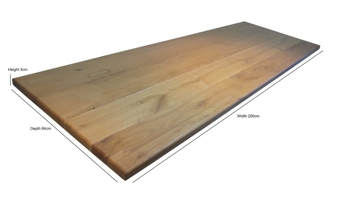 Hand Made Solid Oak Kitchen Worktops Table Tops 2
