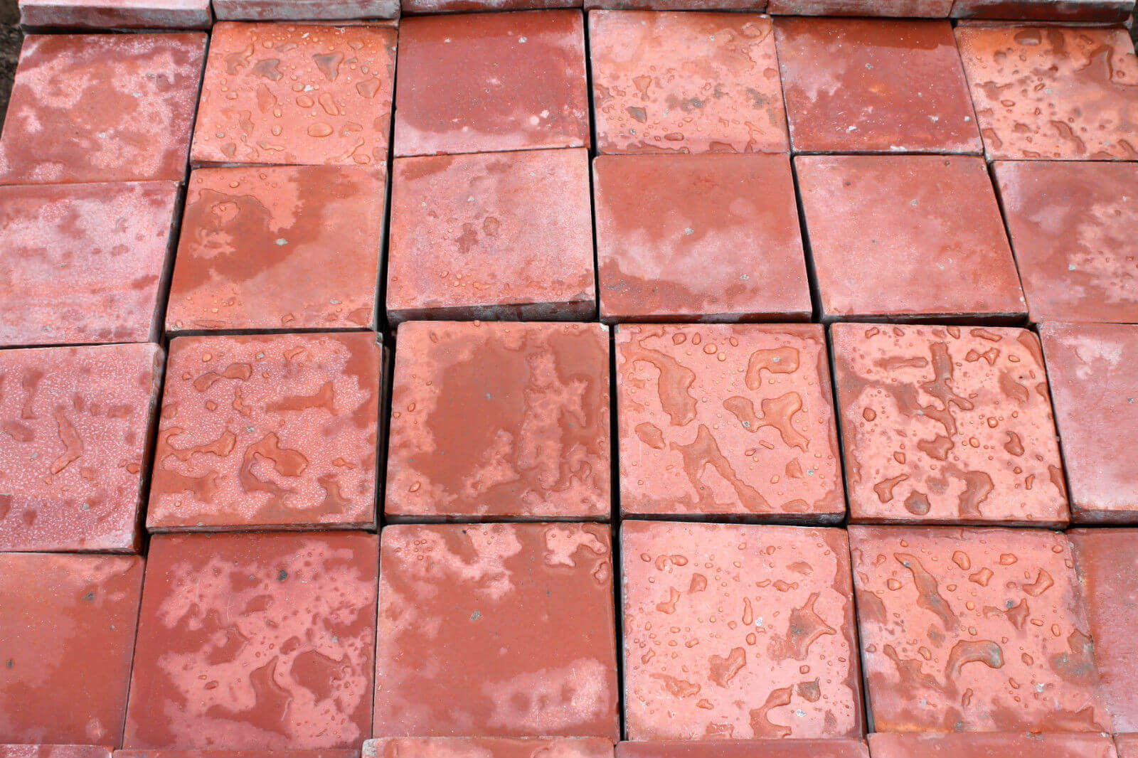 Reclaimed 6x6 Inch 150x150mm Terracotta Red Quarry