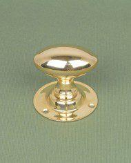 Brass Oval Knob1