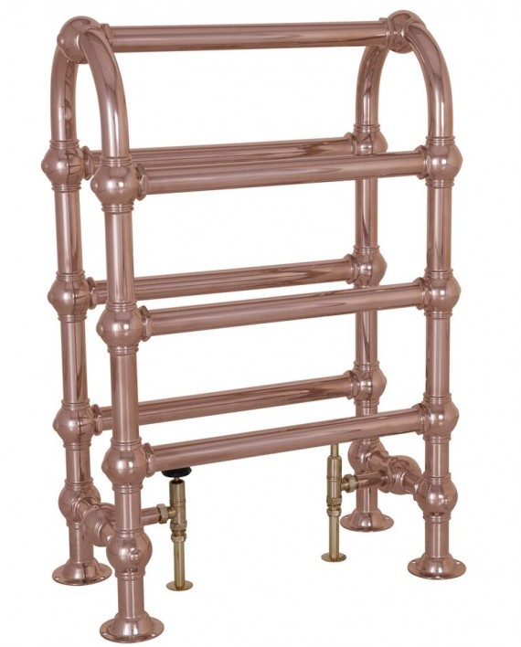 Carron Colossus Horse Steel Towel Rail For Sale: Carron 'The Colossus' Horse 7 Bar Copper Towel Rail