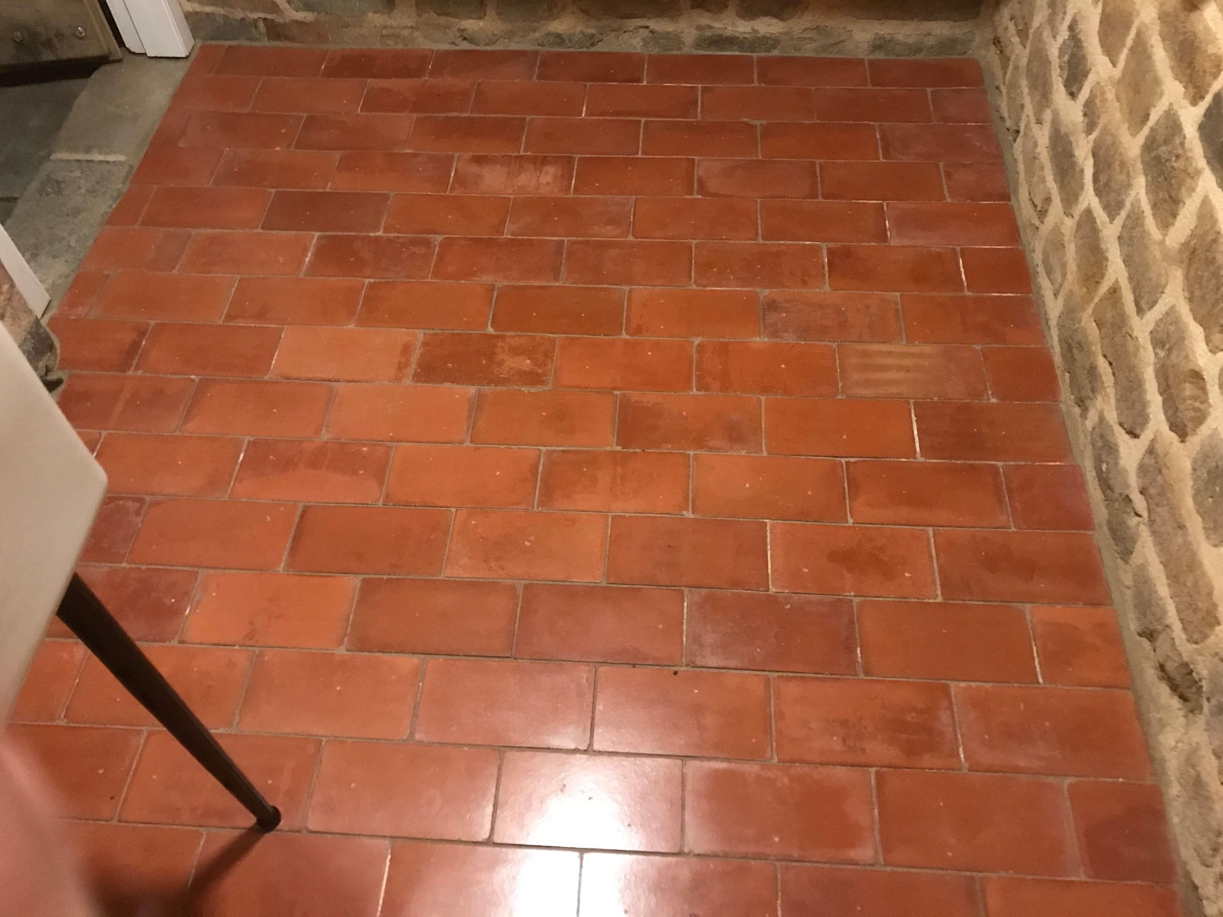 Reclaimed 9 X 4 5 Inch Terracotta Red Quarry Tiles