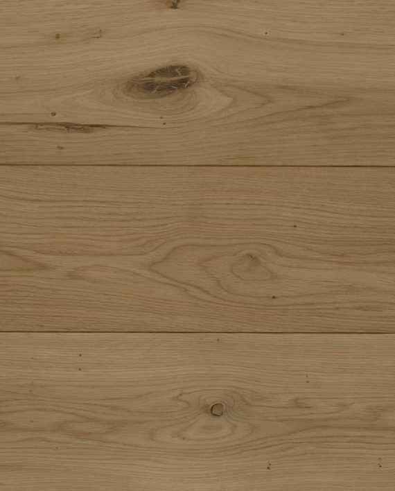Unfinished Rustic Solid Oak Flooring Cladding Board Various Widths
